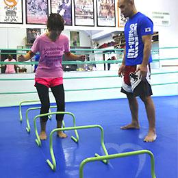 格闘技プロ選手がトレーナーのパーソナルトレーニング(総合格闘技道場コブラ会・大阪市)SAQトレーニング