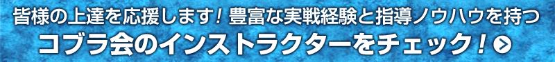 格闘技選手&選手経験者がズラリ、総合格闘技道場コブラ会のインストラクター紹介へ