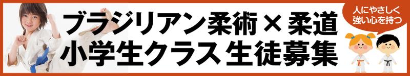 小学生格闘技レッスン開始!大阪市のキックボクシング・柔術・総合格闘技道場コブラ会で柔道とブラジリアン柔術レッスンを